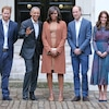Prince Harry, President Barack Obama, Michelle Obama, Prince William, Duchess Kate Middleton