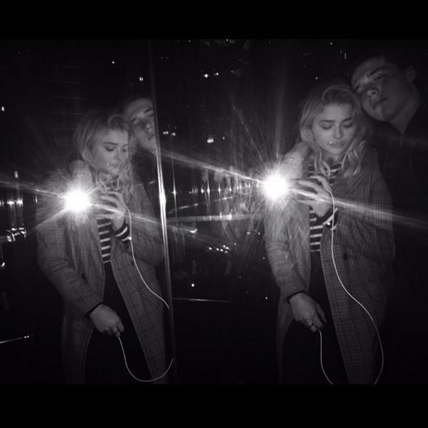 Chloe Grace Moretz, Brooklyn Beckham, Instagram