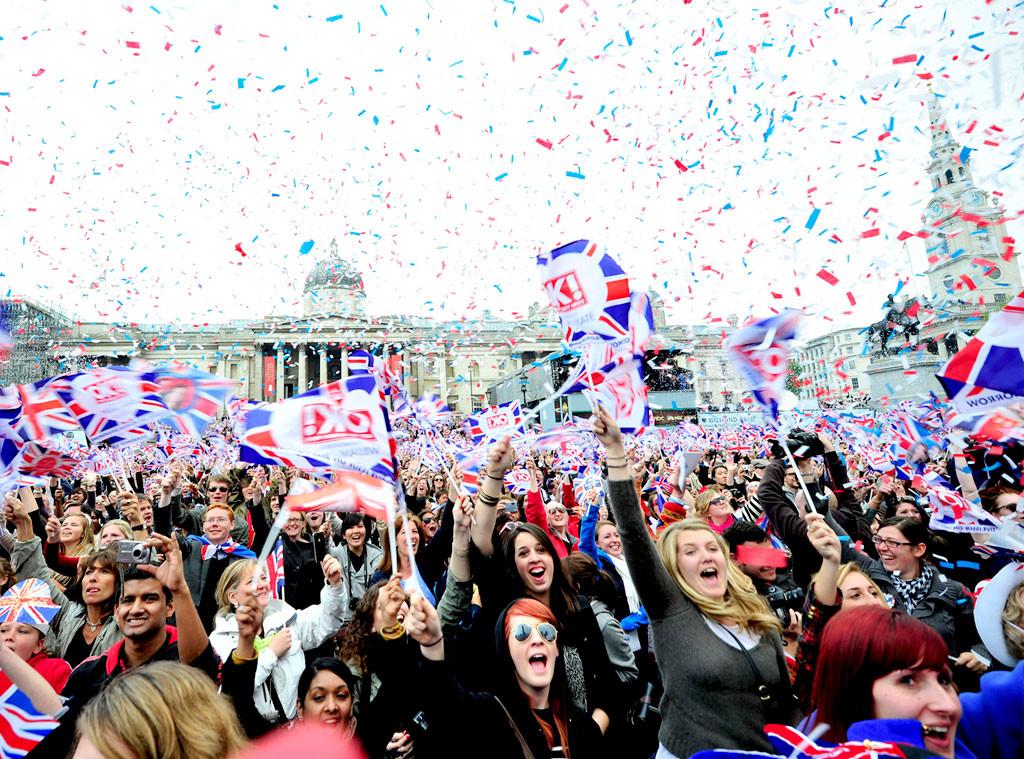 Royal Wedding, Fans