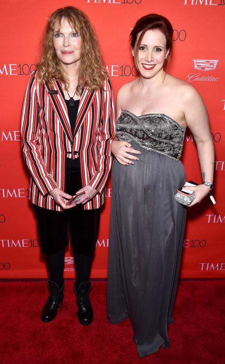 Mia Farrow, Dylan Farrow, Time 100 Gala