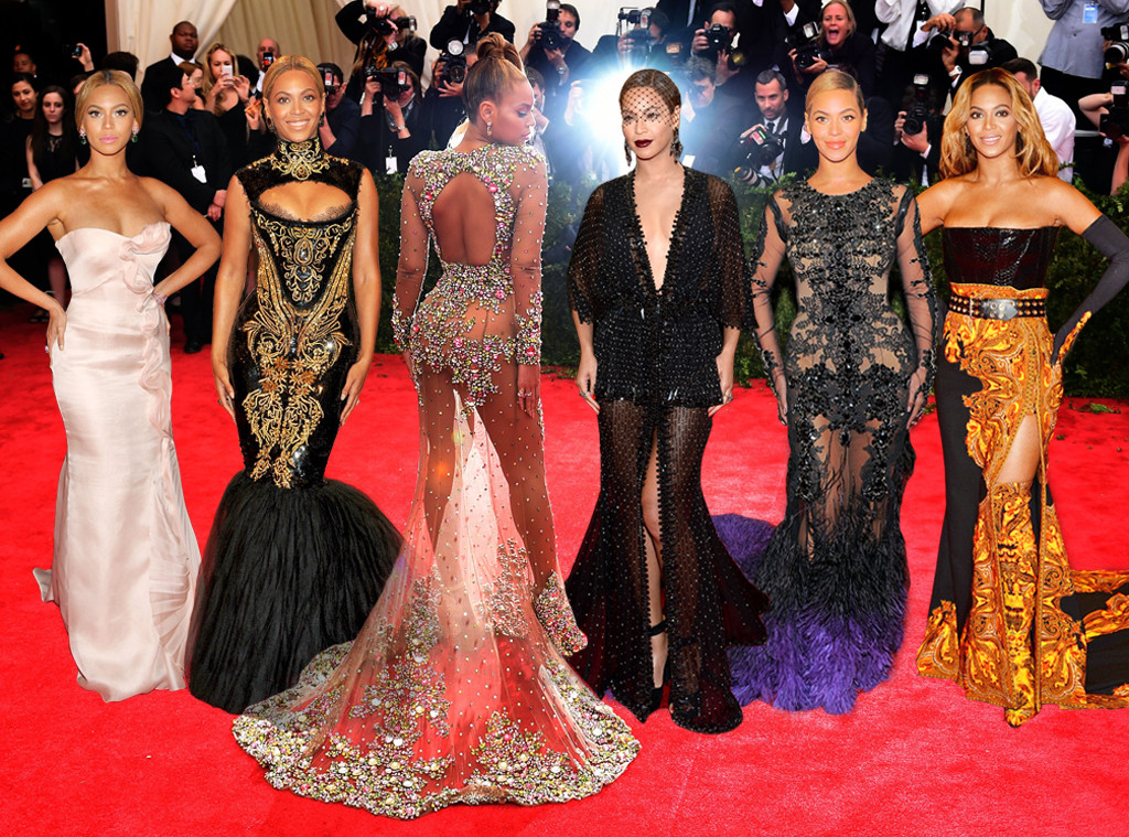 Beyonce Throughout The Years, MET Gala