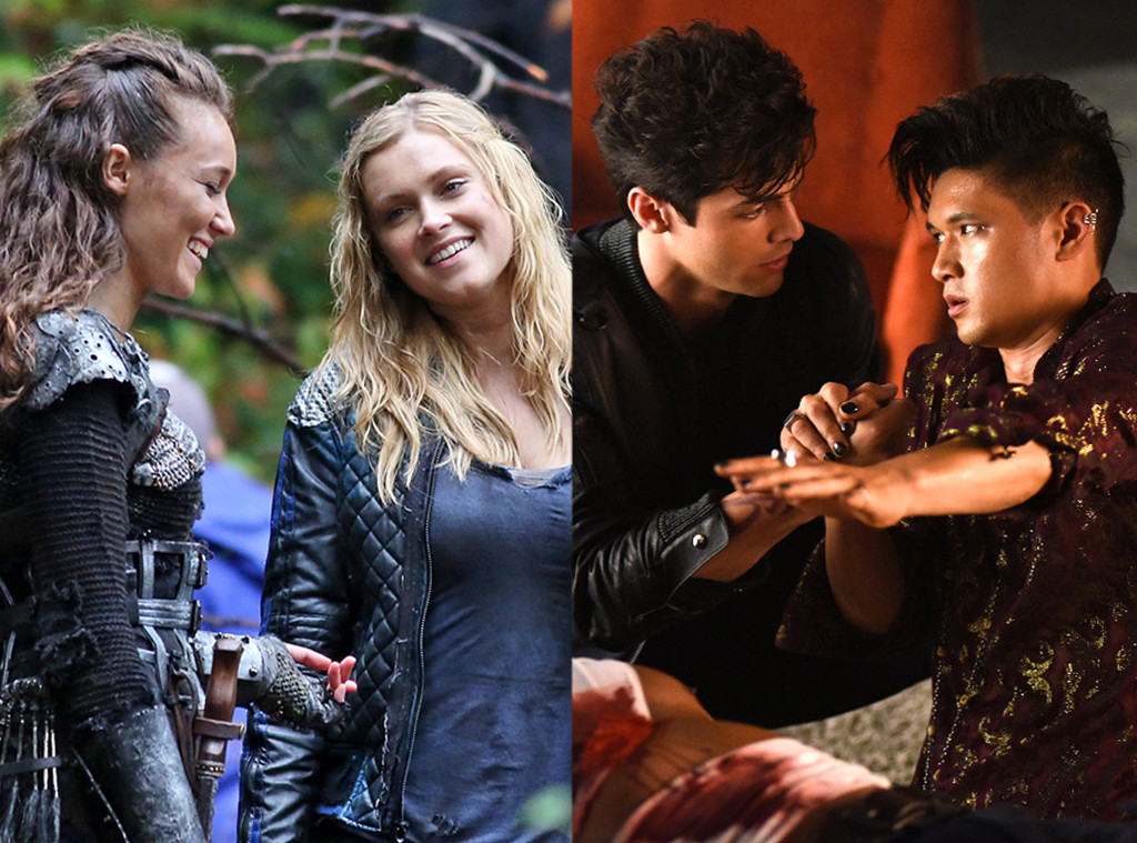 The 100, Shadowhunters, Top Couple