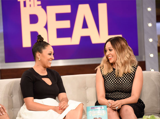 Tia Mowry, Tamera Mowry, The Real