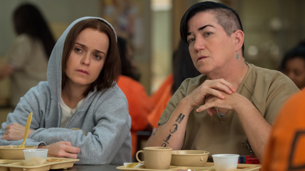Taryn Manning, Lea Delaria, Orange is the New Black, Double Teaser