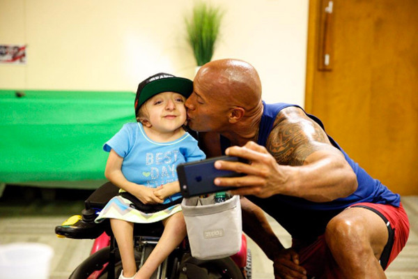 Dwayne Johnson, The Rock, Charity Work