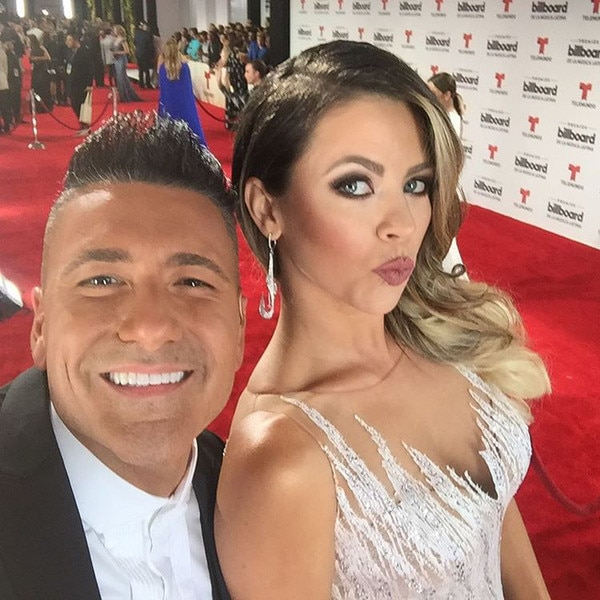 Jorge Bernal, Ximena Duque, 2016 Billboard Latin Music Awards, Instagram