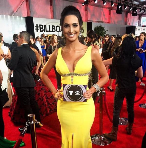 Erika Csiszer, 2016 Billboard Latin Music Awards, Instagram
