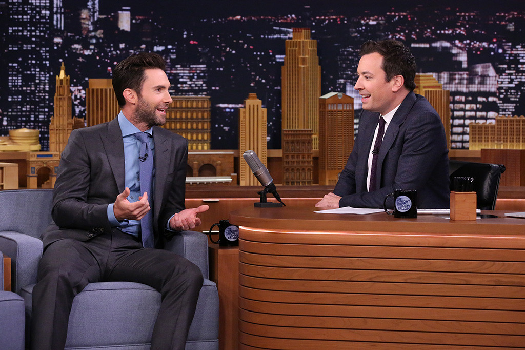 Adam Levine, Jimmy Fallon