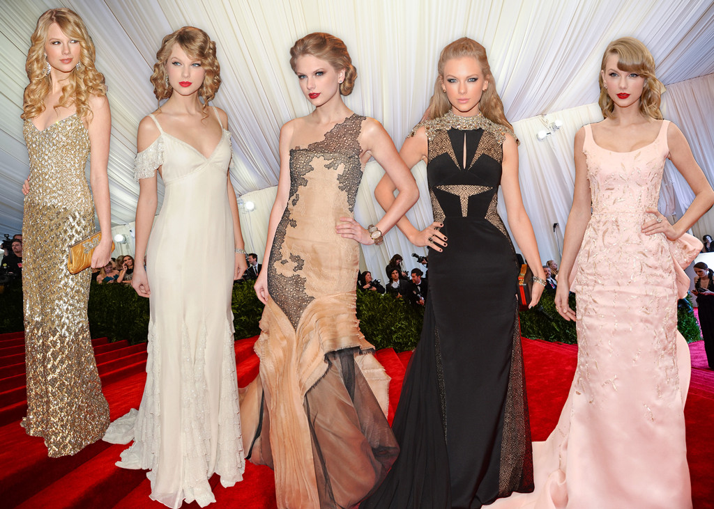 Taylor Swift\'s Met Gala Style Evolution: Look Back at Her Different ...