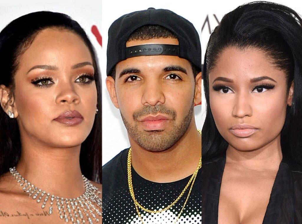 Är drake dating Rihanna eller Nicki Minaj