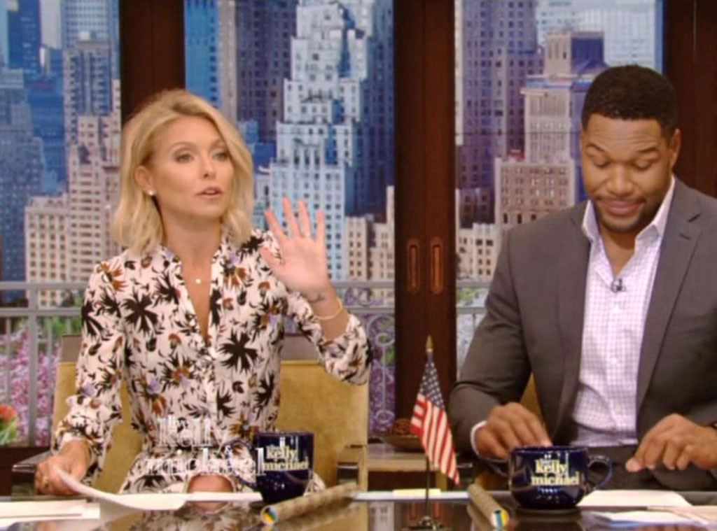 Live With Kelly & Michael, Kelly Ripa, Michael Strahan