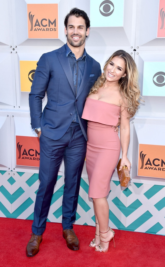 Country Cuties -  Eric and Jessie attend the ACM Awards in Las Vegas.