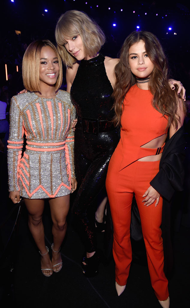 2016 iHeartRadio Music Awards, Taylor Swift, Selena Gomez, Serayah