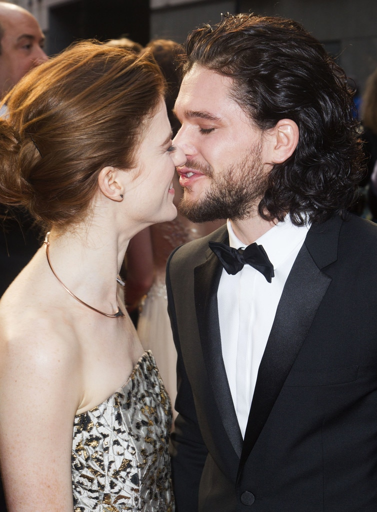 Kiss Off from Kit Harington and Rose Leslie: Romance Rewind | E! News