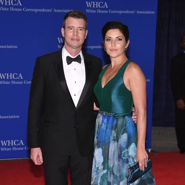 Scott Foley And Marika Dominczyk From White House