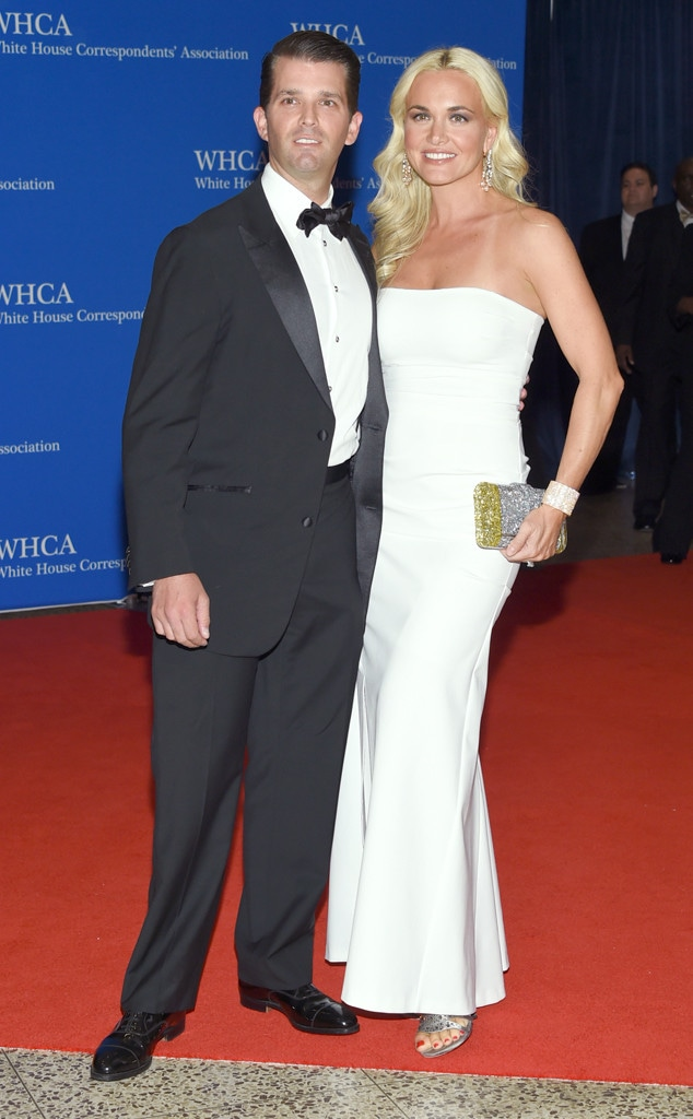 Donald Trump Jr., Vanessa Trump White House Correspondents' Association Dinner