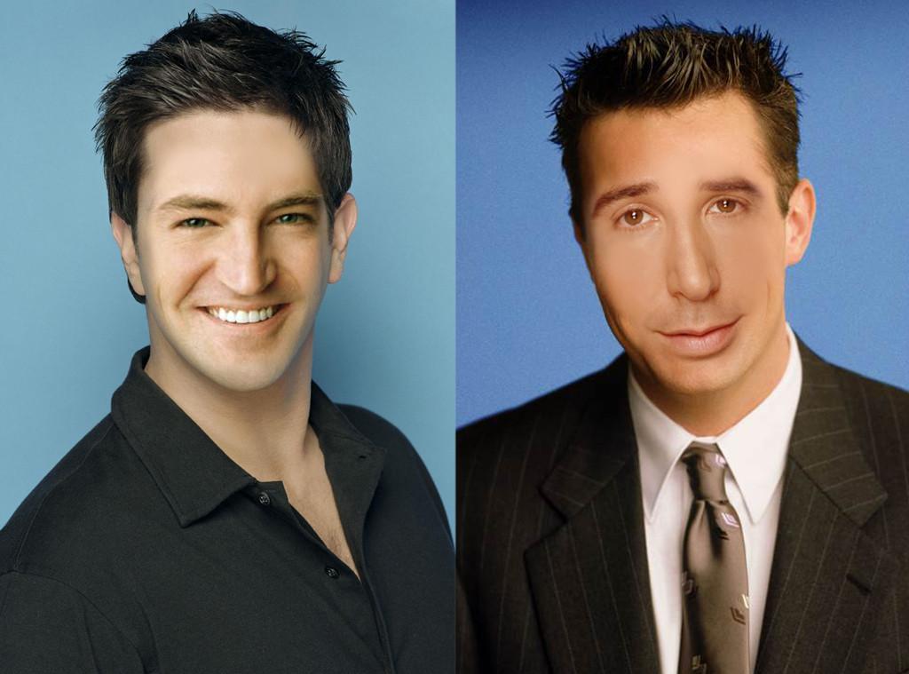 Face Swap, Friends, Ross, Chandler