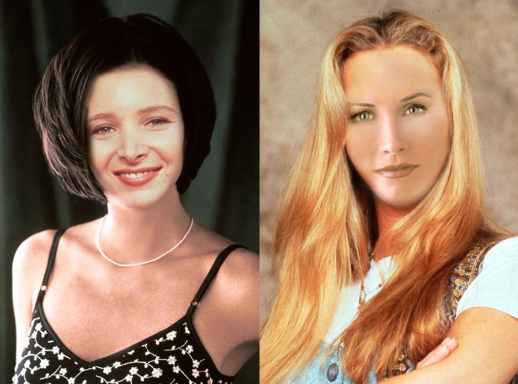 Face Swap, Friends, Monica, Phoebe