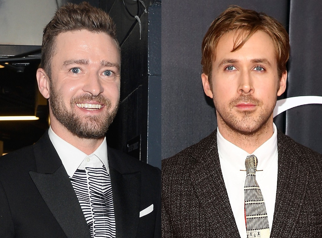 Justin Timberlake & Ryan Gosling -  During their  Mickey Mouse Club  years, the  Notebook  actor moved in with Justin and his family while his mom was still working and living in Canada.