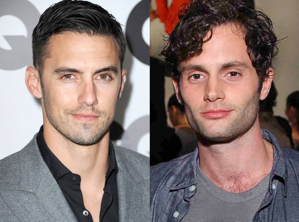 Milo Ventimiglia & Penn Badgley -  Despite their 10-year age difference, the  Gossip Girl  actor said living with the future  Heroes  star had major perks—like borrowing his ID to get into bars!