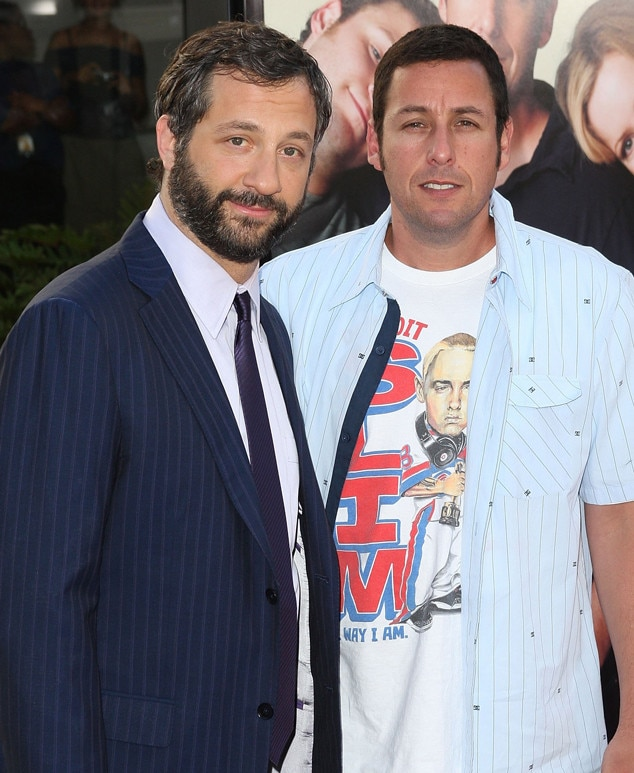 Judd Apatow & Adam Sandler -  Before they got their big break in the comedy world, the  Funny People  director and the  Funny People  star shared a $900 per month apartment in SoCal's San Fernando Valley. Even when Sandler moved to NYC to work on  Saturday Night Live  he continued to pay rent out of fear he might get fired.