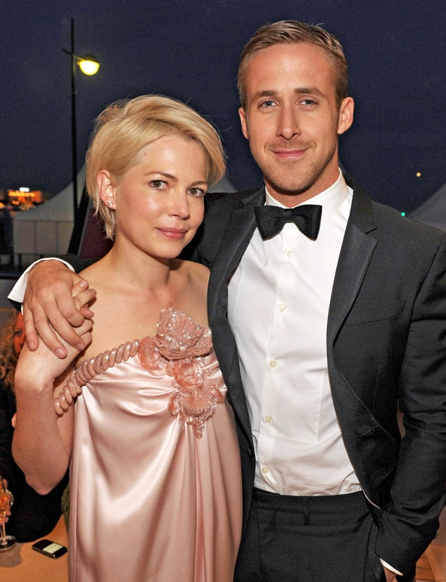 Michelle Williams & Ryan Gosling -  Although they were only asked to live together for a month ahead of starring in  Blue Valentine  together, the co-stars got along so well they shacked up for an entire month.