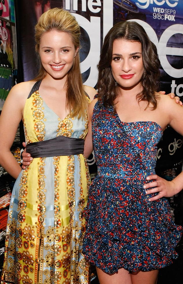 Dianna Agron & Lea Michele -  These  Glee  co-stars just couldn't get enough gal-pal time with each other. Even after filming wrapped for the day, the actresses would head home to their shared apartment.