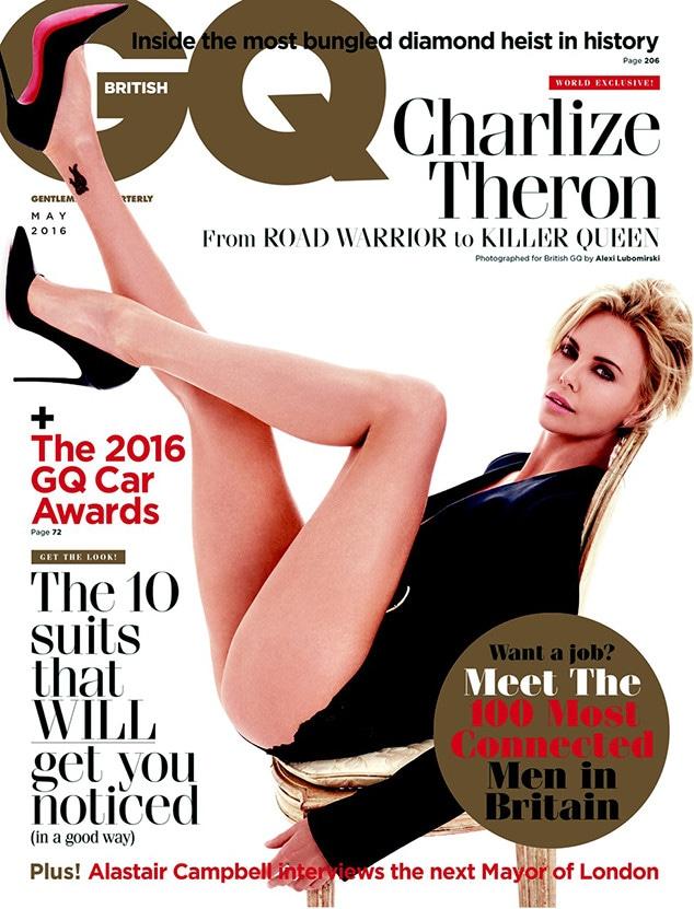 Charlize Theron, British GQ