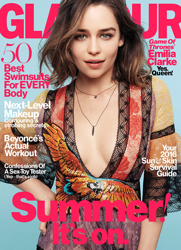 Emilia Clarke Finally Opens Up About Dating Seth Macfarlane E News