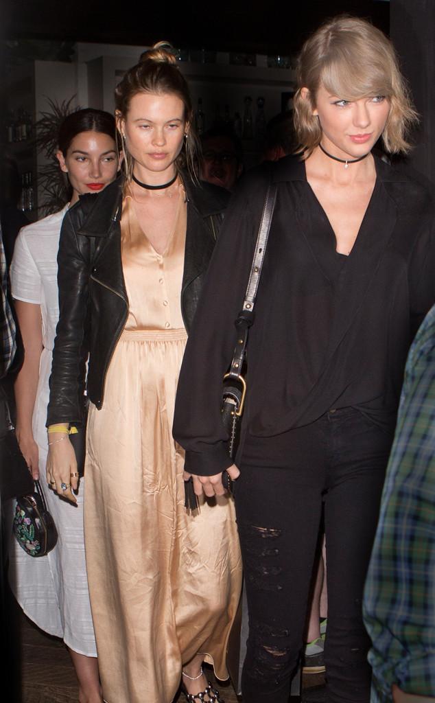 Behati Prinsloo, Lily Aldridge, Taylor Swift