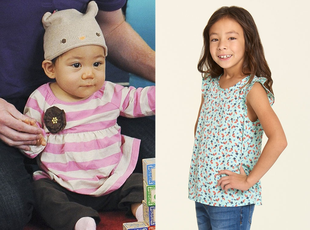 The Kids of Modern Family, Then and Now, Jaden Hiller, Ella Hiller,