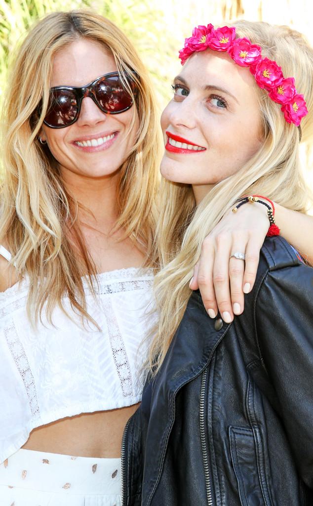ESC: Sienna Miller, Poppy Delevingne