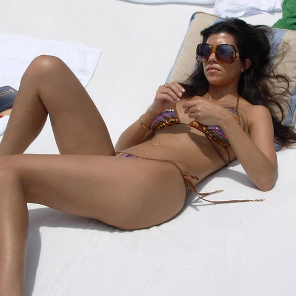 Bikini Beauty -  We're in love with Kourtney's bikini!