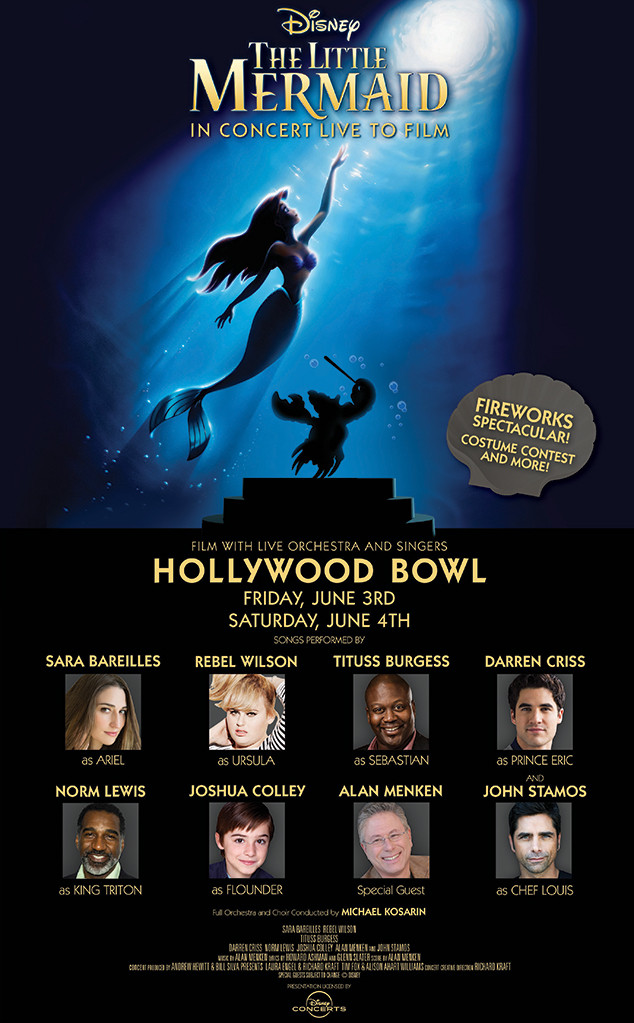 The Little Mermaid, Hollywood Bowl Production Poster