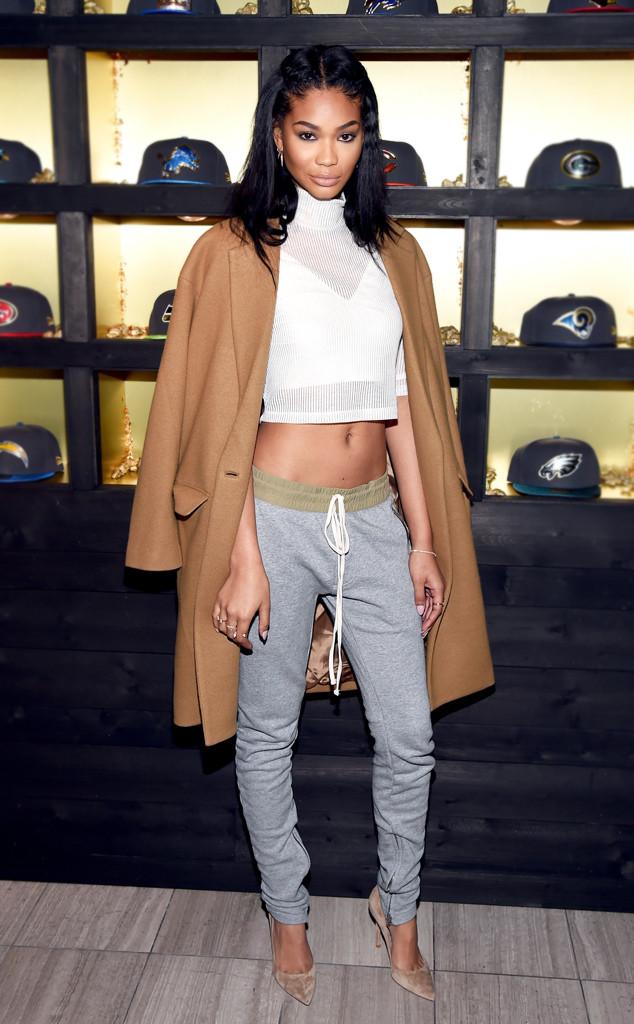 ESC: Crop Tops, Chanel Iman