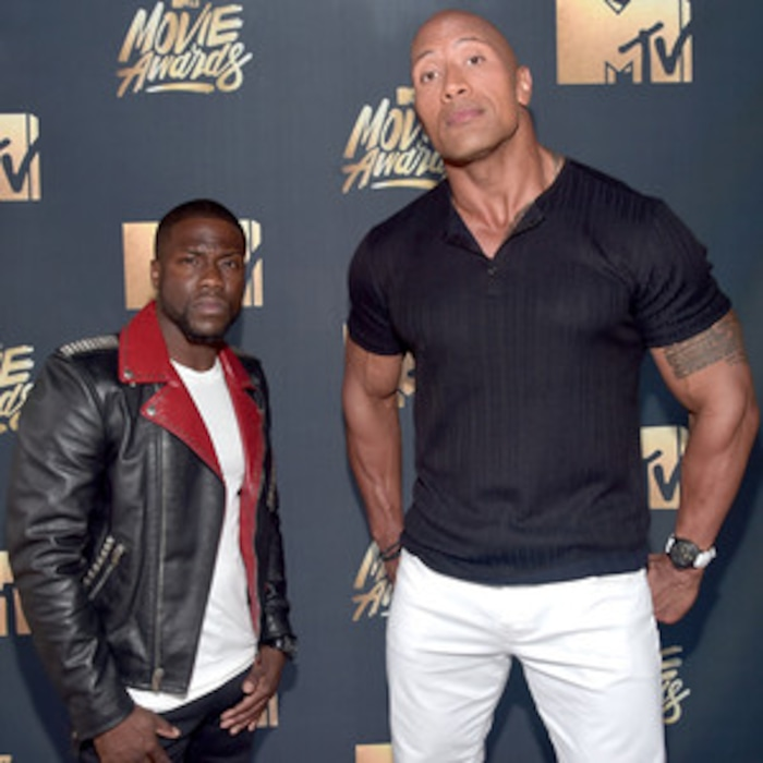 Mtv Movie Awards Why Kevin Hart And Dwayne Johnson Are The Craziest