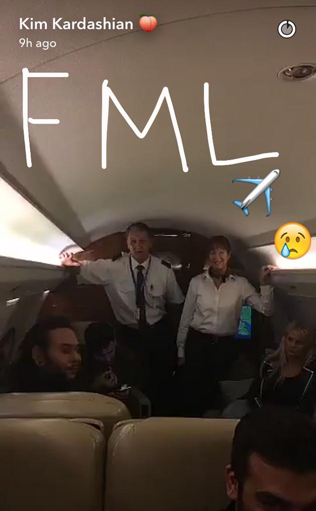 Kim Kardashian, Las Vegas, Snapchat
