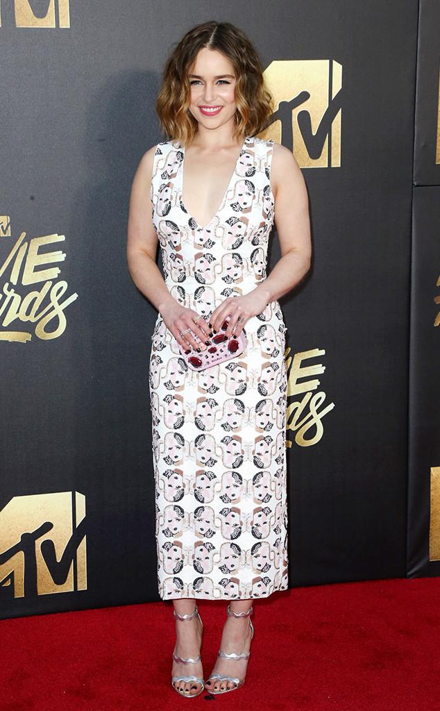 Emilia Clarke, MTV Movie Awards 2016