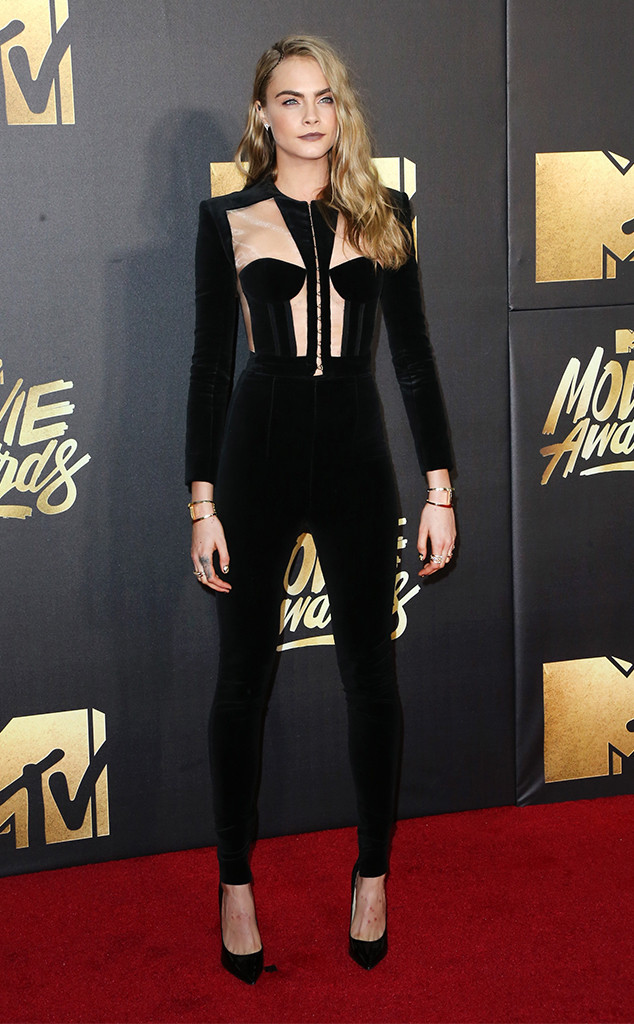 Cara Delevingne, MTV Movie Awards 2016
