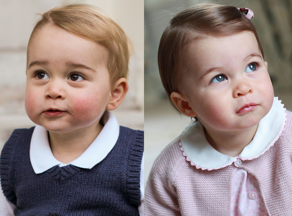 Princess Charlotte Looks Like Her Brother Prince George In New Photos E News