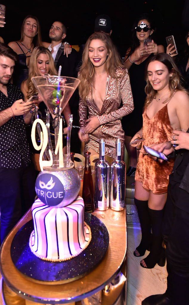 Gigi Hadid Stuns In Sexy Boots At Birthday Party In Las Vegasand