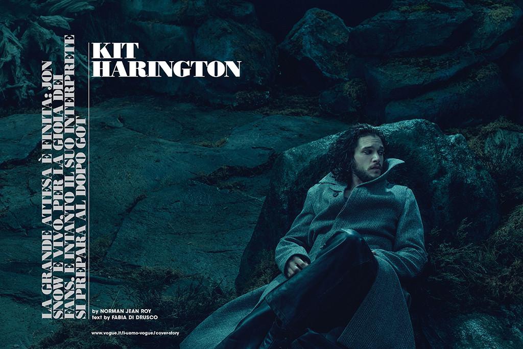 Kit Harington, L'Uomo Vogue