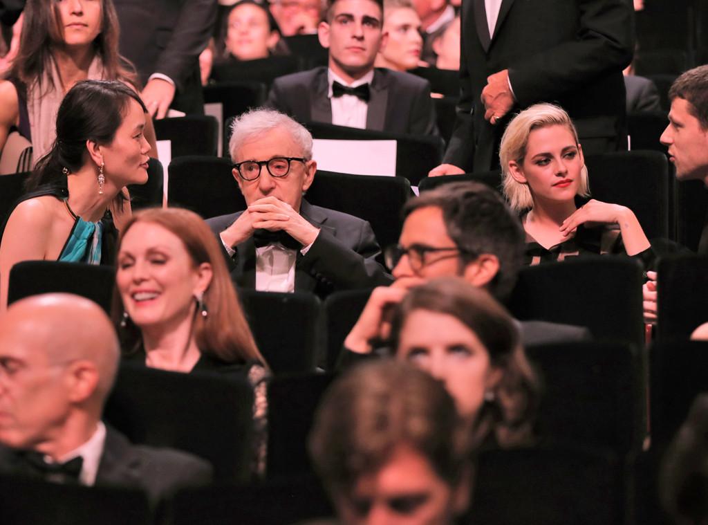 Woody Allen, Soon-Yi Previn, Kristen Stewart, Cannes 2016