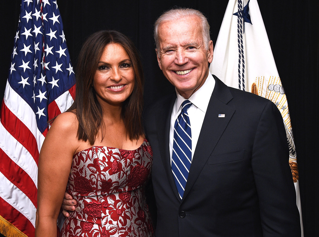 Mariska Hargitay, Joe Biden