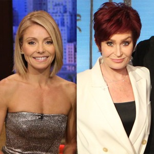 Kelly Ripa, Sharon Osborne, Live with Kelly, The Talk