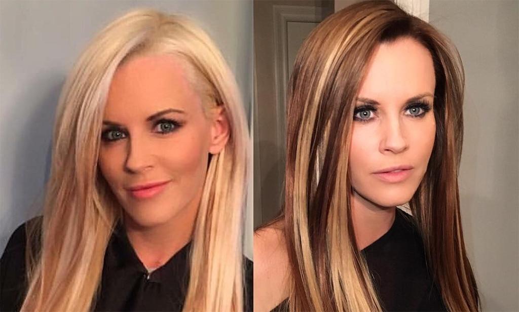 Jenny McCarthy, Brunette, Blonde, Hair