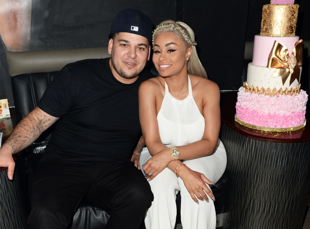 Blac Chyna, Rob Kardashian, Chyna 28th Birthday