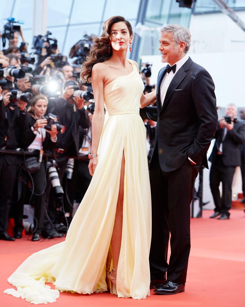 ESC: Amal Clooney, George Clooney