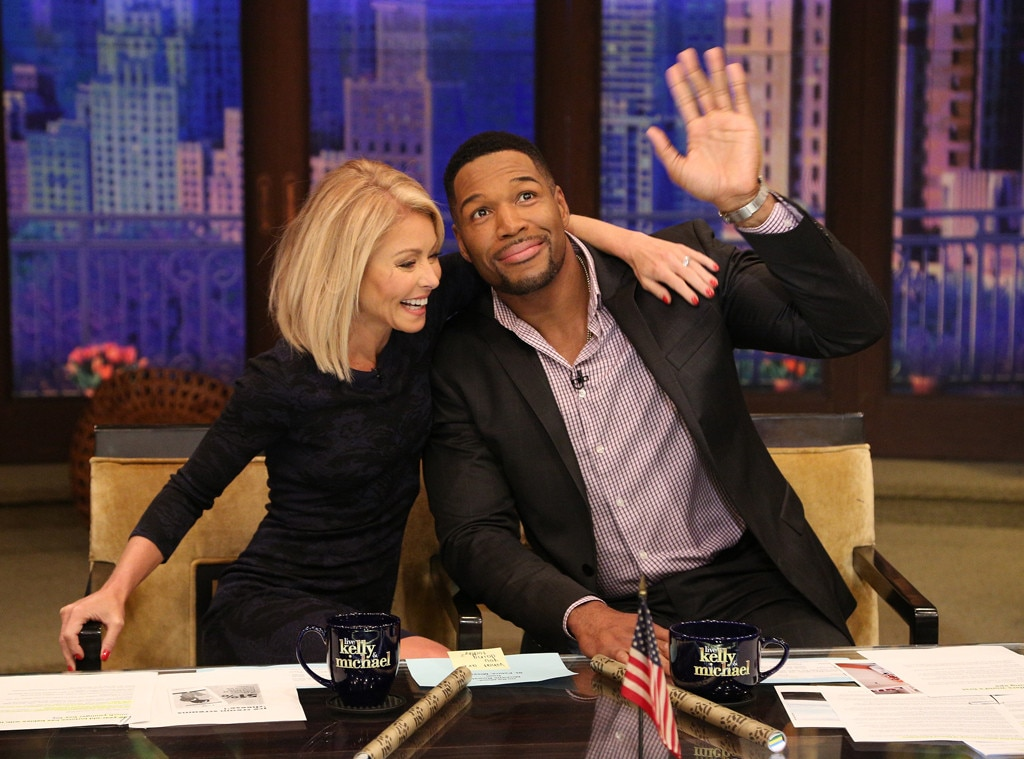 Live With Kelly And Michael interrupted by alarm for four minutes ...