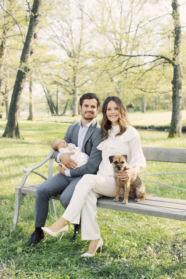 Prince Carl Philip, Princess Sofia of Sweden, Prince Alexander